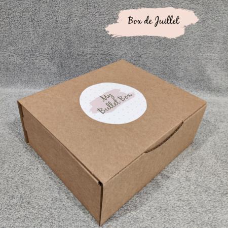 Bullet Box Juillet - Travel box